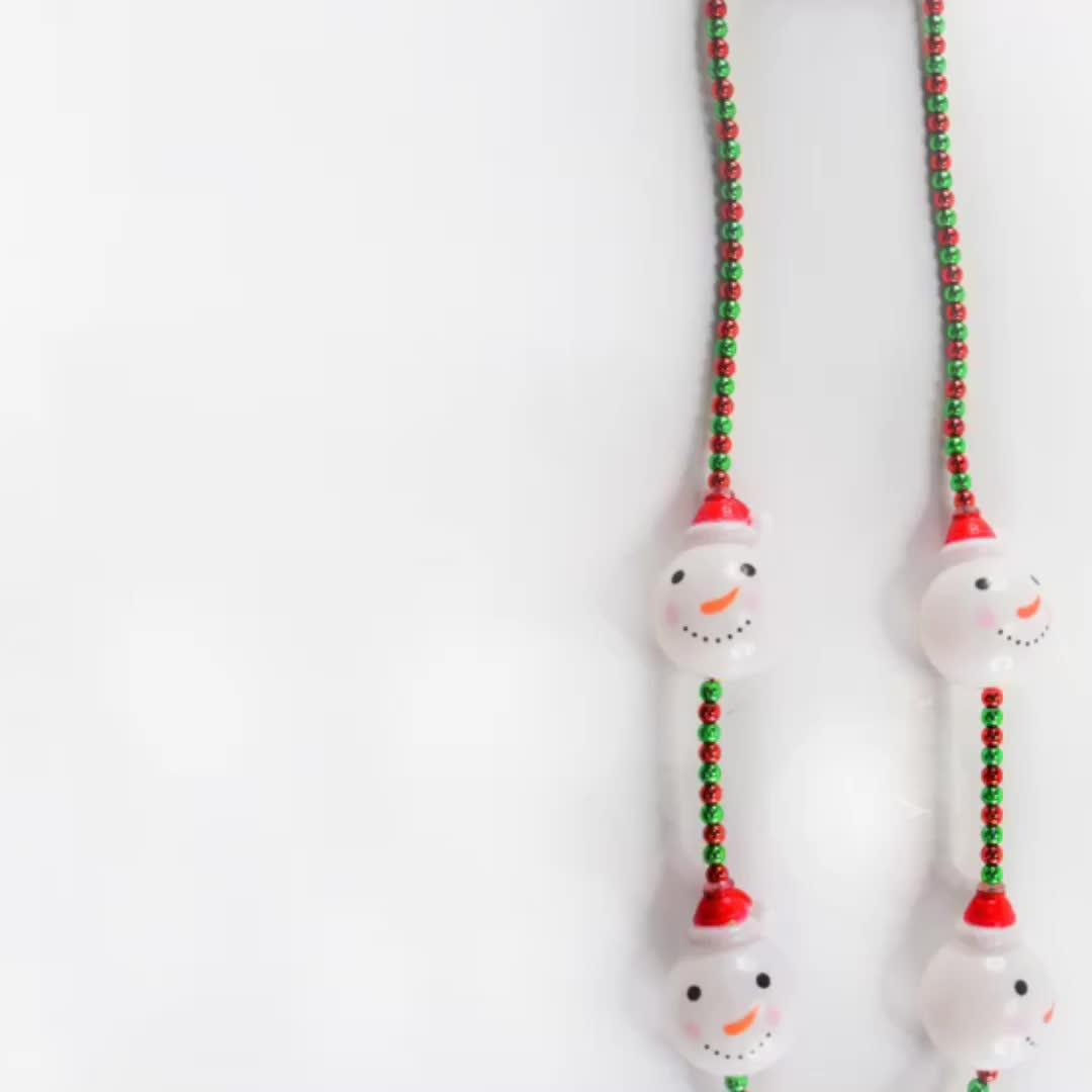 Licht Up Perlen LED Halloween Halskette