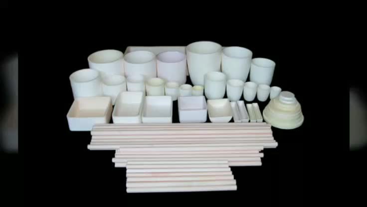130ML Alumina Corundum Crucible