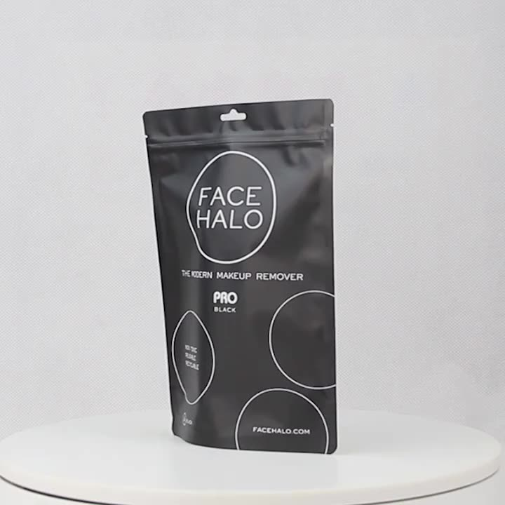 Printing Resealable Mylar Pouch Stand Up Ziplcok Plastic chocolate snack Packaging Bags