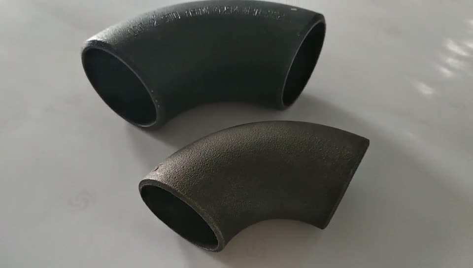 Butt Welded Fitting Carbon Steel Fitting 90d Elbow to ASME B16.9