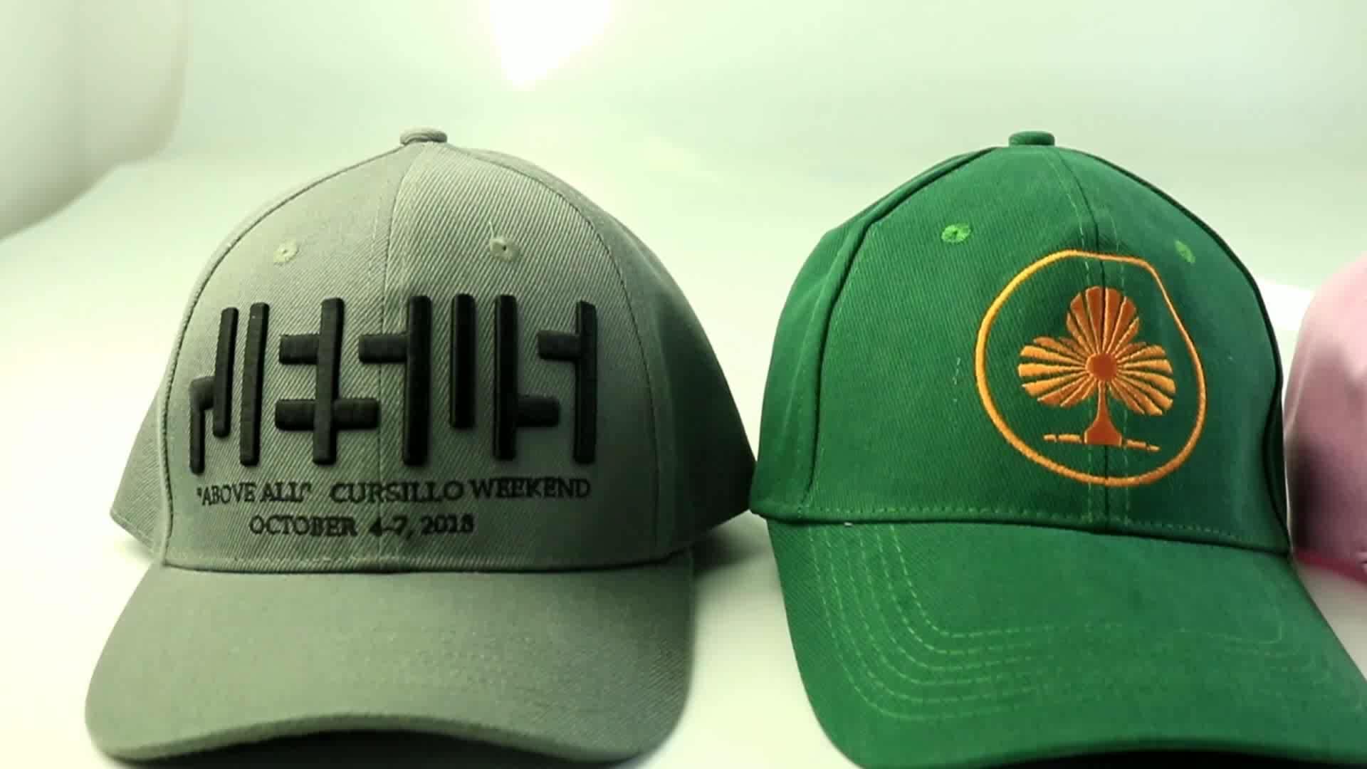 Custom high quality cap wholesale embroidery sports cap men's baseball cap