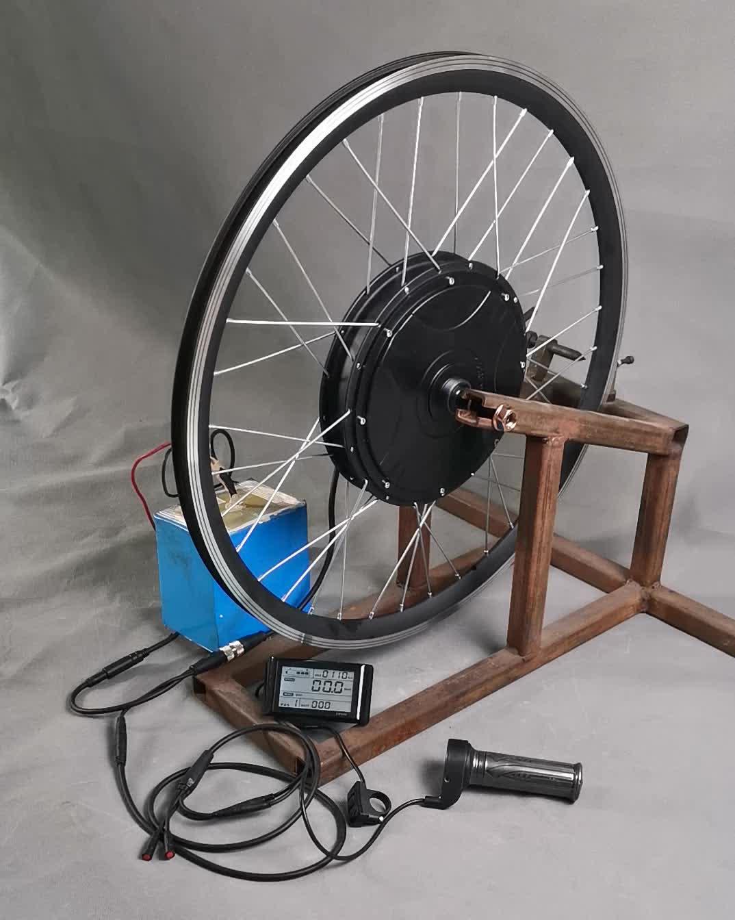 Kit Konversi Sepeda Listrik, Motor Sepeda Listrik Tanpa Sikat 48V 1000W