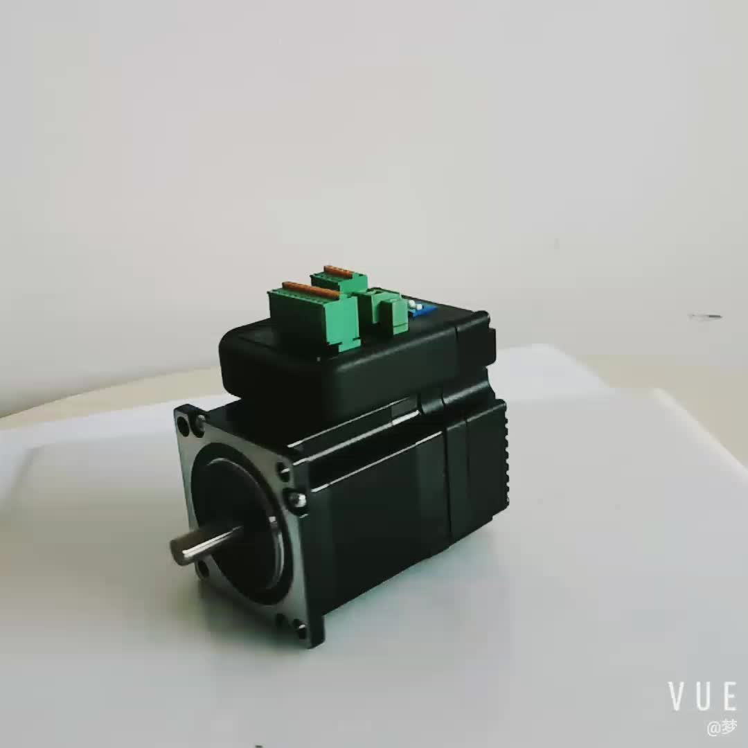 closed loop hybrid nema 23 servo stepper motor with encoder cable and driver