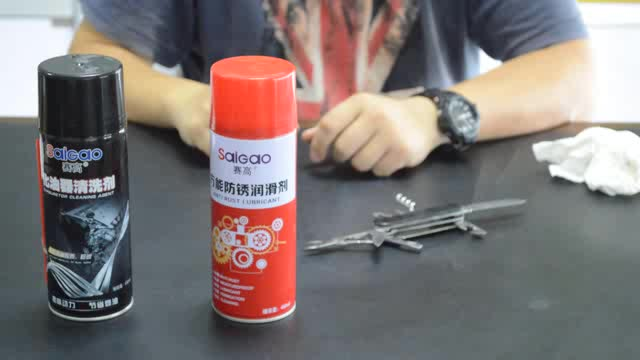 car motorcycle lubricant silicone lubricant  anti rust screw lubricant spray