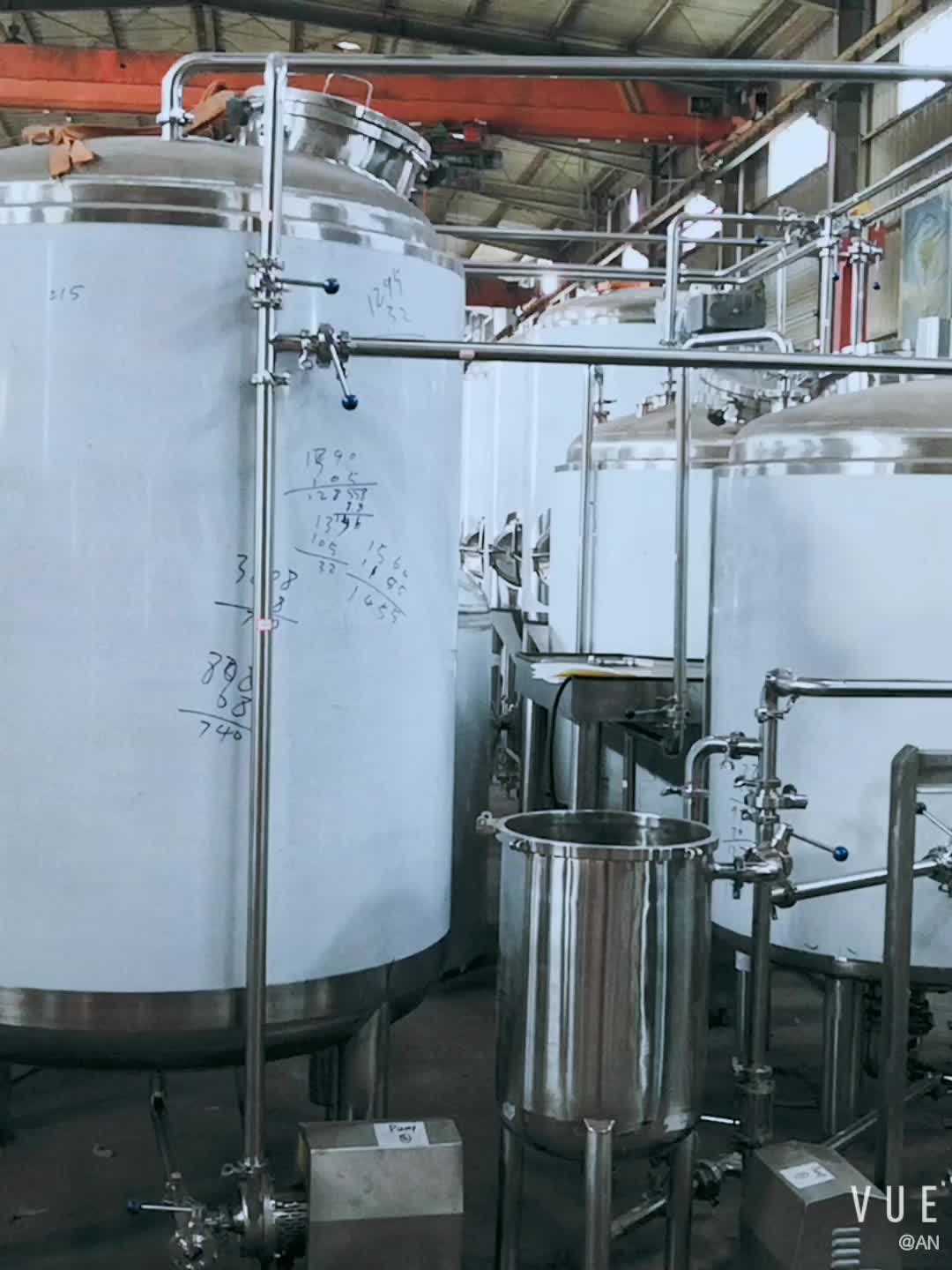 DYE CE Certification Jacketed Fermenter 1000L Conical Beer Fermenters brite tank