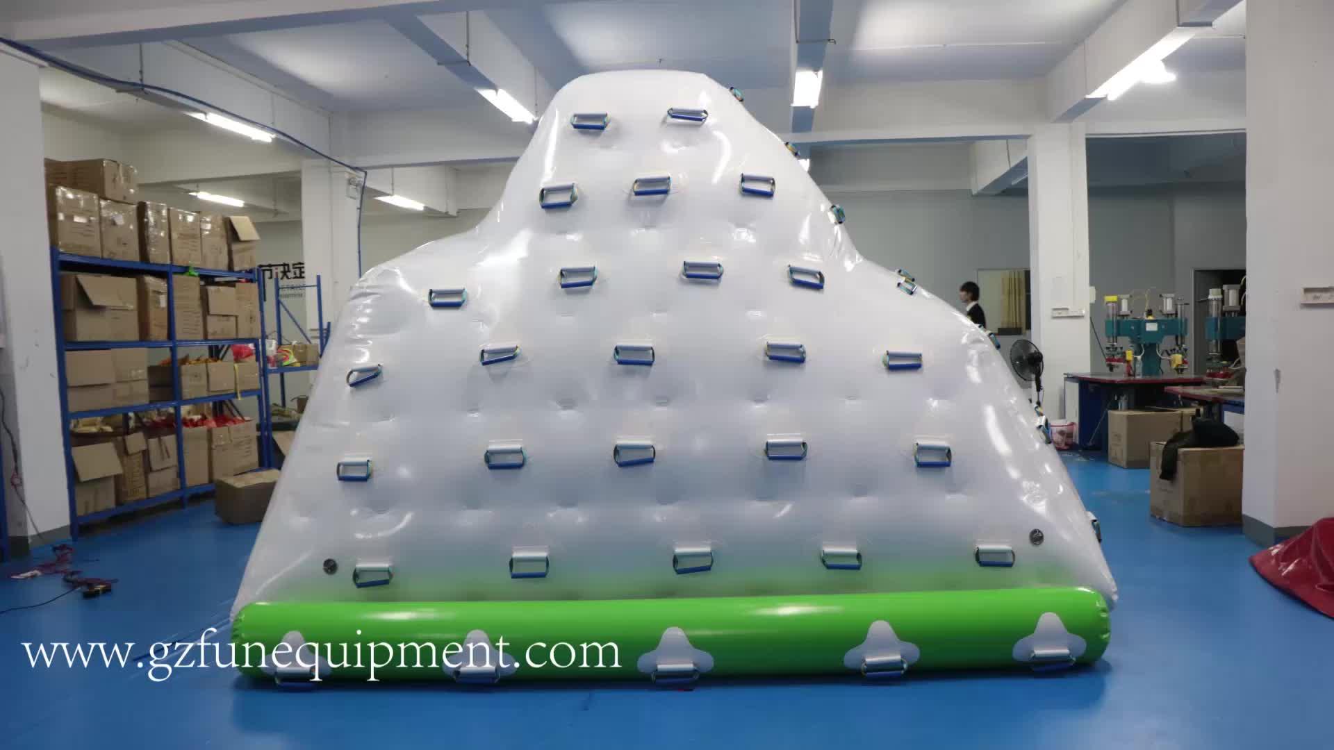 Inflatable pool iceberg iceberg float inflatable iceberg water toy