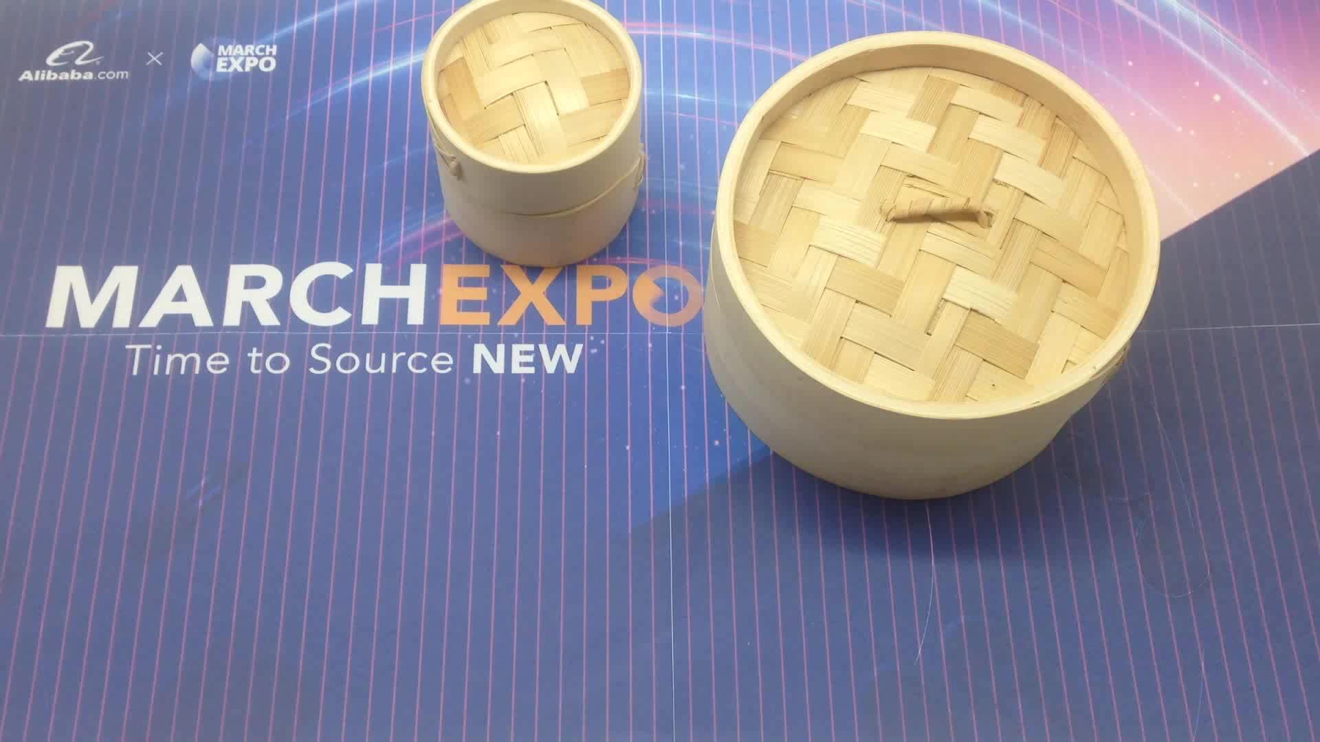Usa e getta Resistente Pentole Mini A Buon Mercato Eco-Friendly Dim Sole Su Misura Personalizzati Cibo A Vapore Per La Corea E Giappone