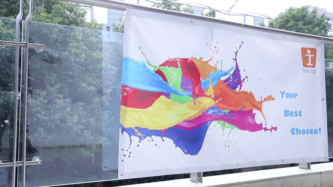 Popular large cheap outdoor event banner, decoration festival banner