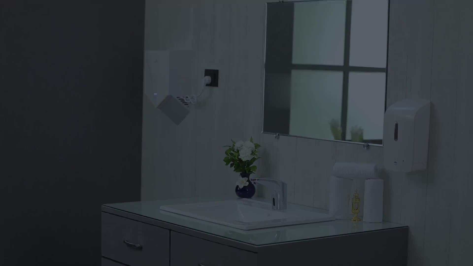 קיר רכוב אלקטרוני חיישן touchless נוזל אוטומטי סבון dispenser