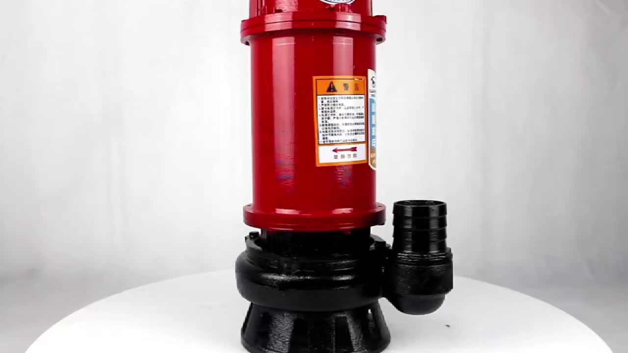 Nouveau style des eaux usées électrique béliers pompe