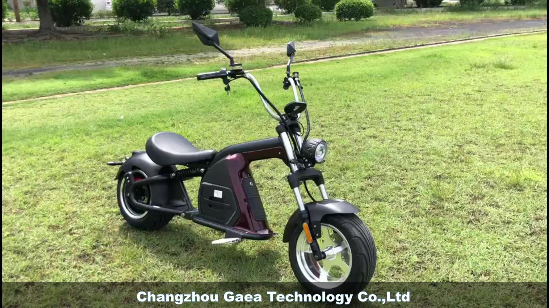 2020 Xe Tay Ga Cho Người Lớn Với Một Chỗ Ngồi Hệ Thống Báo Động 2000 Watt Động Cơ Không Chổi Than Chất Béo Lốp Chopper Citycoco Mới Từ Trung Quốc Nhà Máy