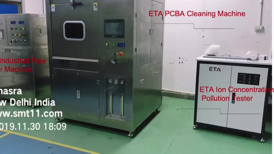 ETA-5600 PCBA Cleaning Machine  effectively clean residuals on SMT / THT welding PCBA