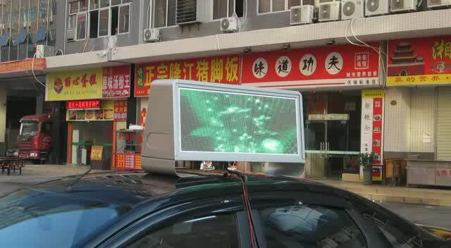 Shenzhen führte Taxi oben geführt zeichen, führte taxi top werbung