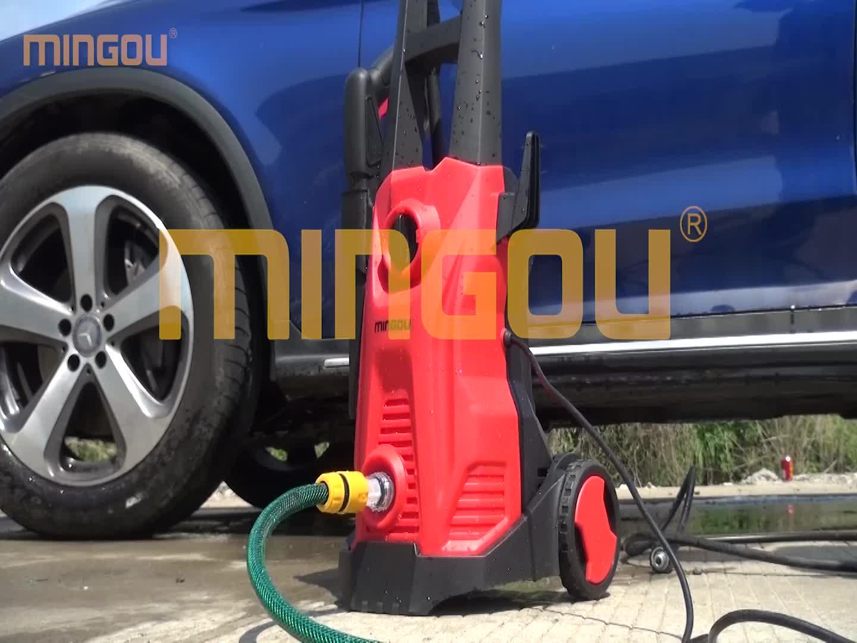 Car wash backpack pressure washer