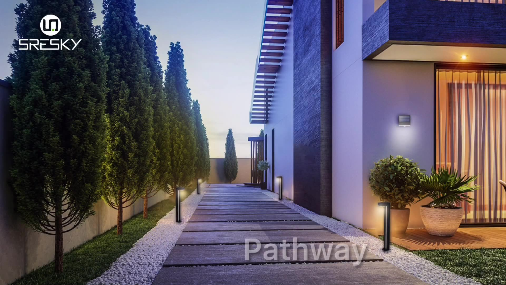 2020 New product lampadaire solaire led lawn light solar panel garden