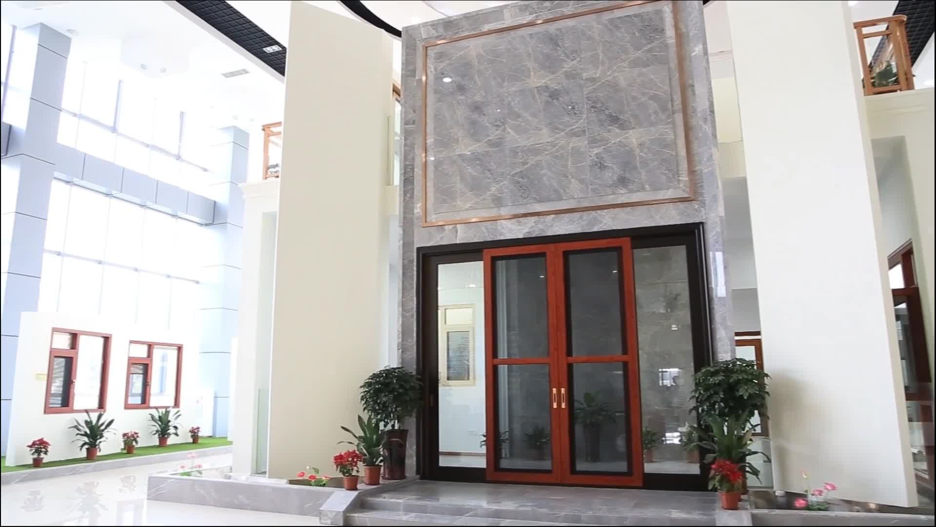High Performance Insulated Slidingfolding Door With Clear Glass