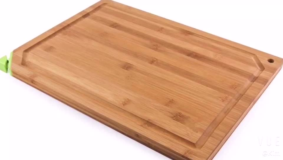 multifunction creative kitchen bamboo cutting board with knife sharpener for knifes