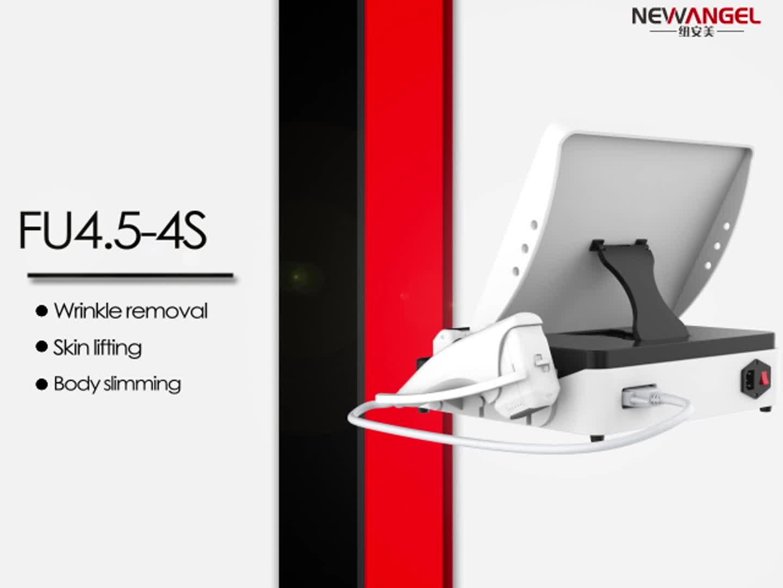Newangel 5 heads hifu machine portable hifu high intensity focused ultrasound