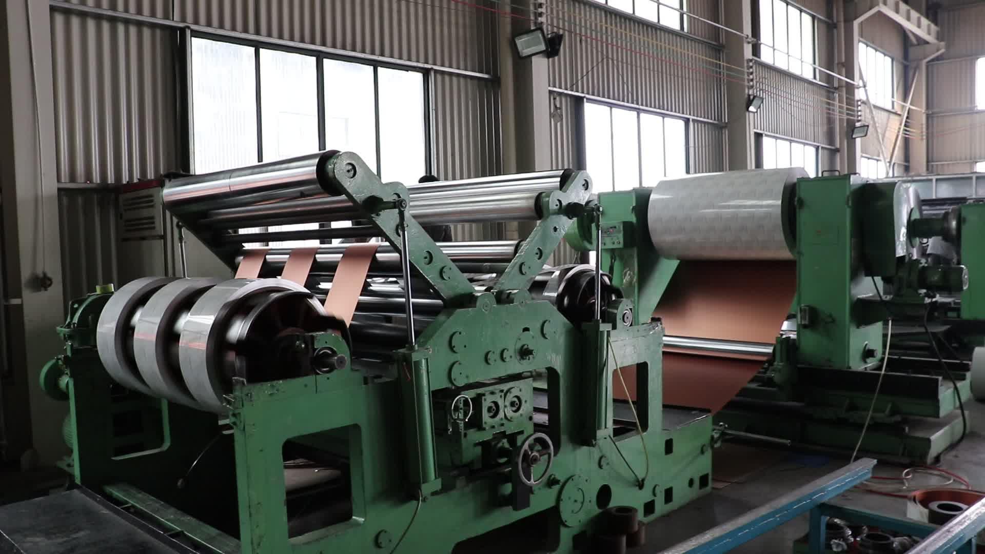 A1100/3003/3015 pe/Revestimento de pvdf cor bobina de alumínio para o sistema de calha