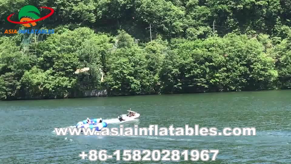 Verrückte UFO 12 Sitze Anhänge Wasser Ski Semi Aufblasbare Disco Boot Wasser Spielzeug