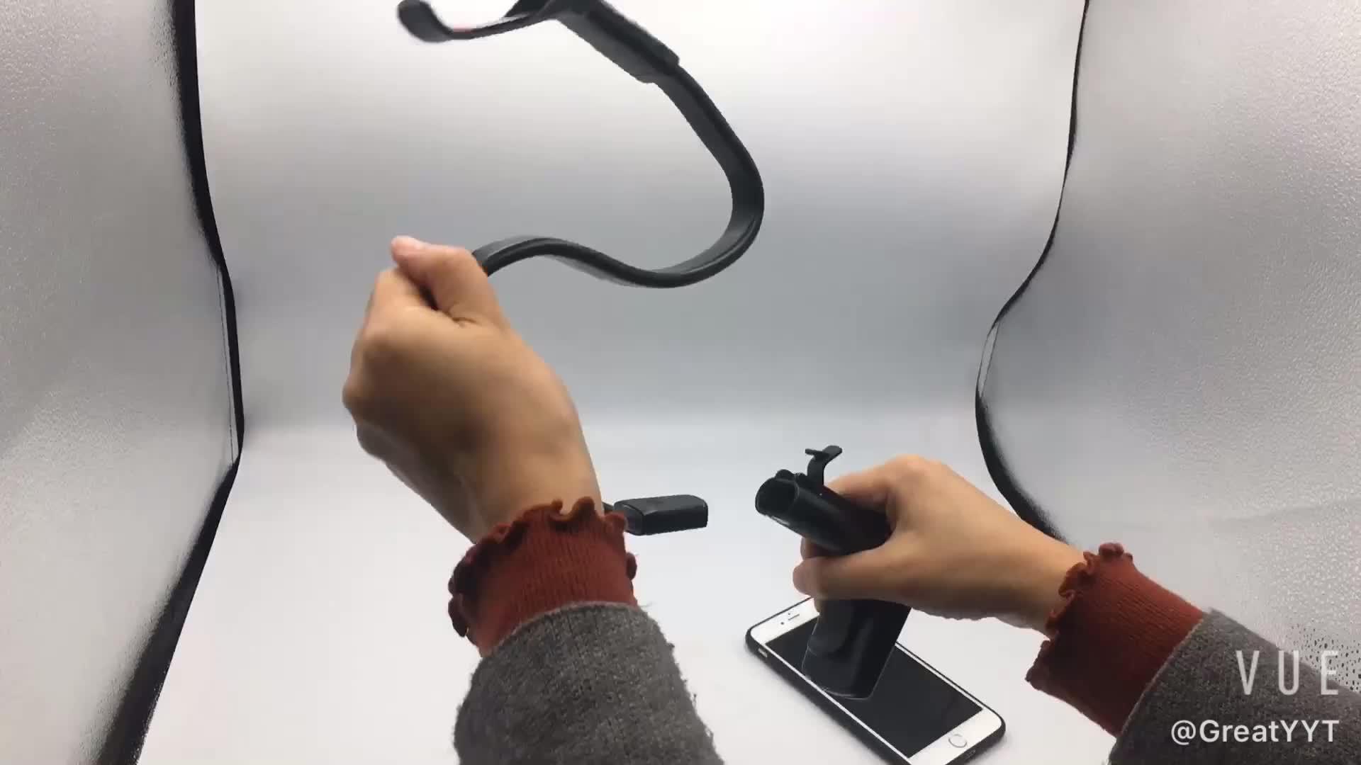 Gooseneck טלפון מחזיק, Lamicall טלפון Stand: מתכוונן עצלן מחזיק טלפון הר תואם עם באיכות גבוהה