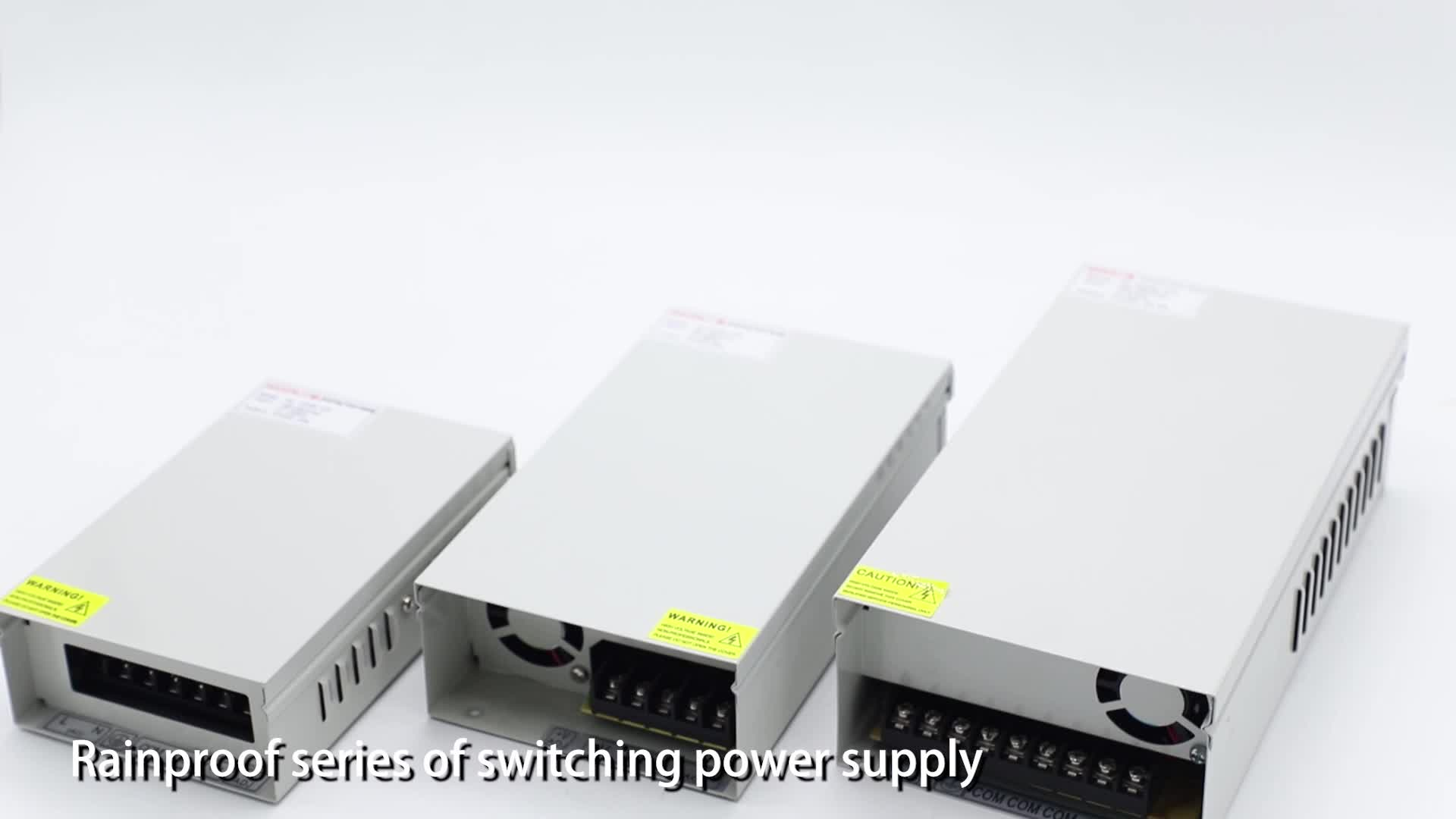 AC DC 12v 5a LED switching mode power supply for CCTV