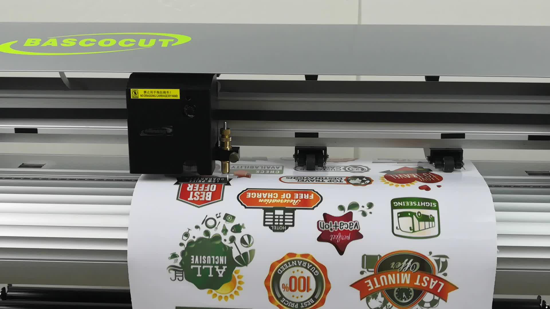 Radium Cắt decal cho vinyl nhãn dán giấy với trình điều khiển USB và Flexi 10 phần mềm