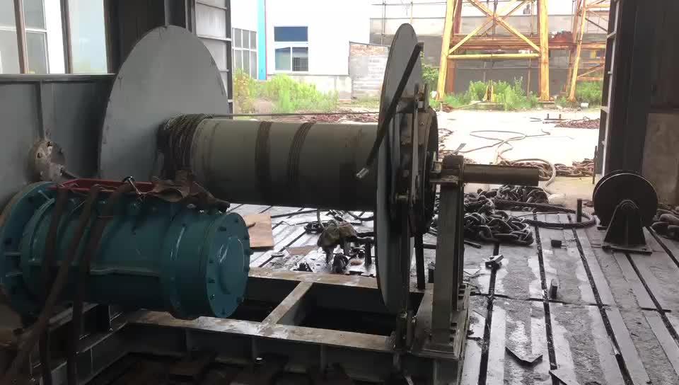 Diesel Single Drum Towing Winch