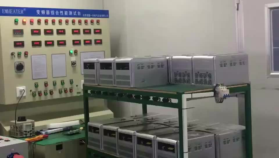 CE approved  0 to 400Hz 380V to 480V 3 phase input 5.5KW AC variable speed drive for pumps