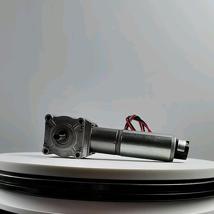 Ruido silencioso alto par 12 V 24 V dc especificaciones del motor eléctrico con reductor