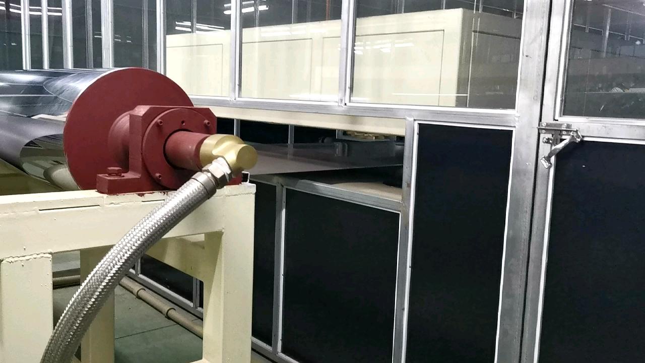 Линия по производству алюминиевых и стальных цветных покрытий