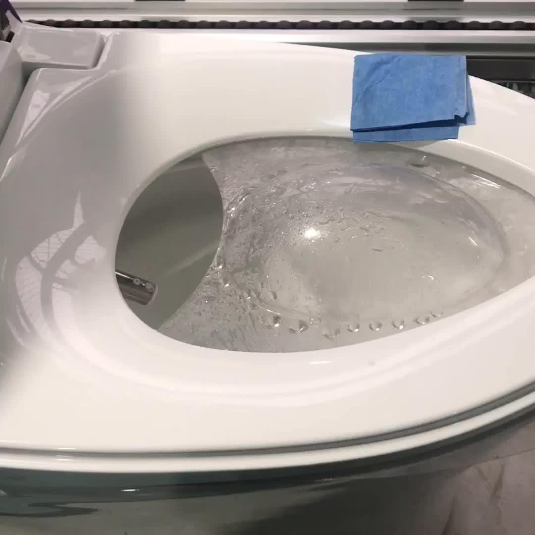 बिजली के बिना डब्ल्यूसी सोने बुद्धिमान bidet स्मार्ट शौचालय टैंक