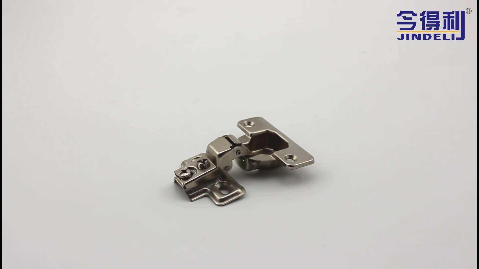 Furniture Hardware short arm self closing aluminium door hinge concealed cabinet hinge for furniture