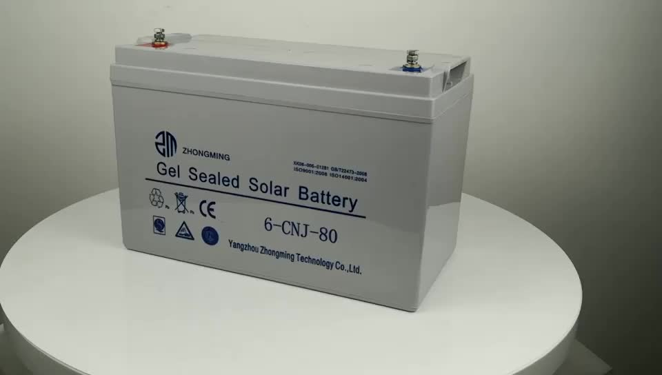 Fabrikpreise Erstklassige 12V-Gel-Agm-Batterie-Solarbatterie 200ah für PV-Energiespeicherung
