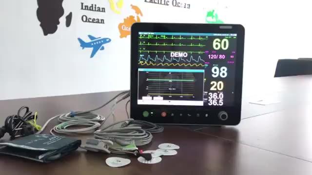 6 Vital signs monitor de parâmetro para a UTI do hospital venda quente