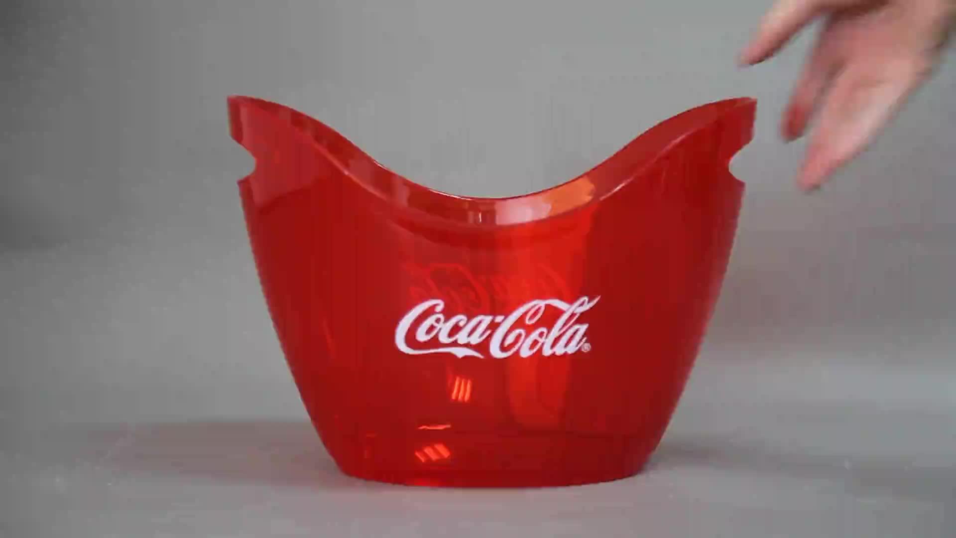 플라스틱 아크릴 또는 PS 얼음 양동이/더블 또는 싱글 레이어 얼음 양동이