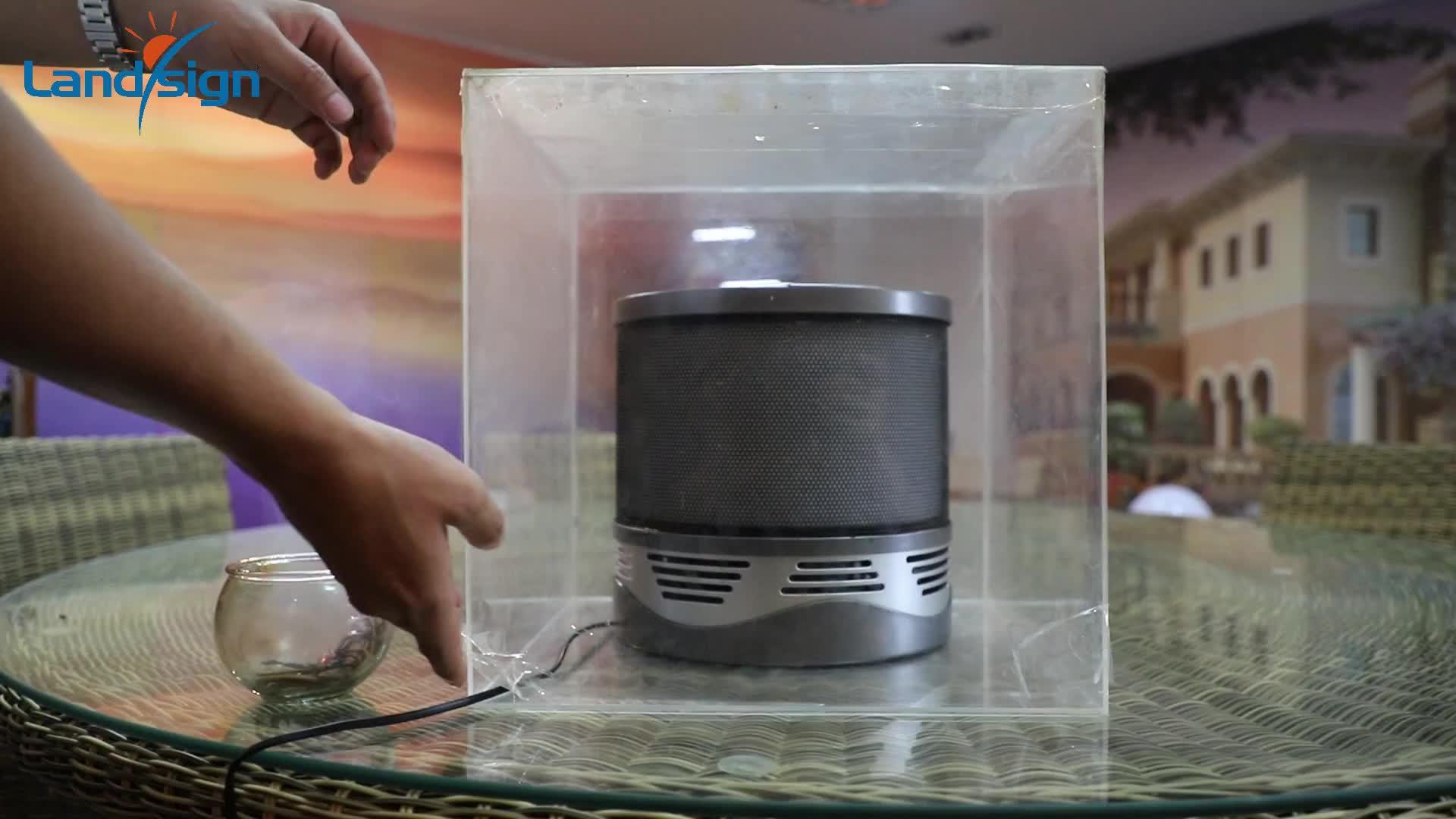 데스크탑 미니 공기 청정기 ture HEPA 필터 휴대용 공기 청정기 먼지 알레르기 애완 냄새, 연기 꽃가루