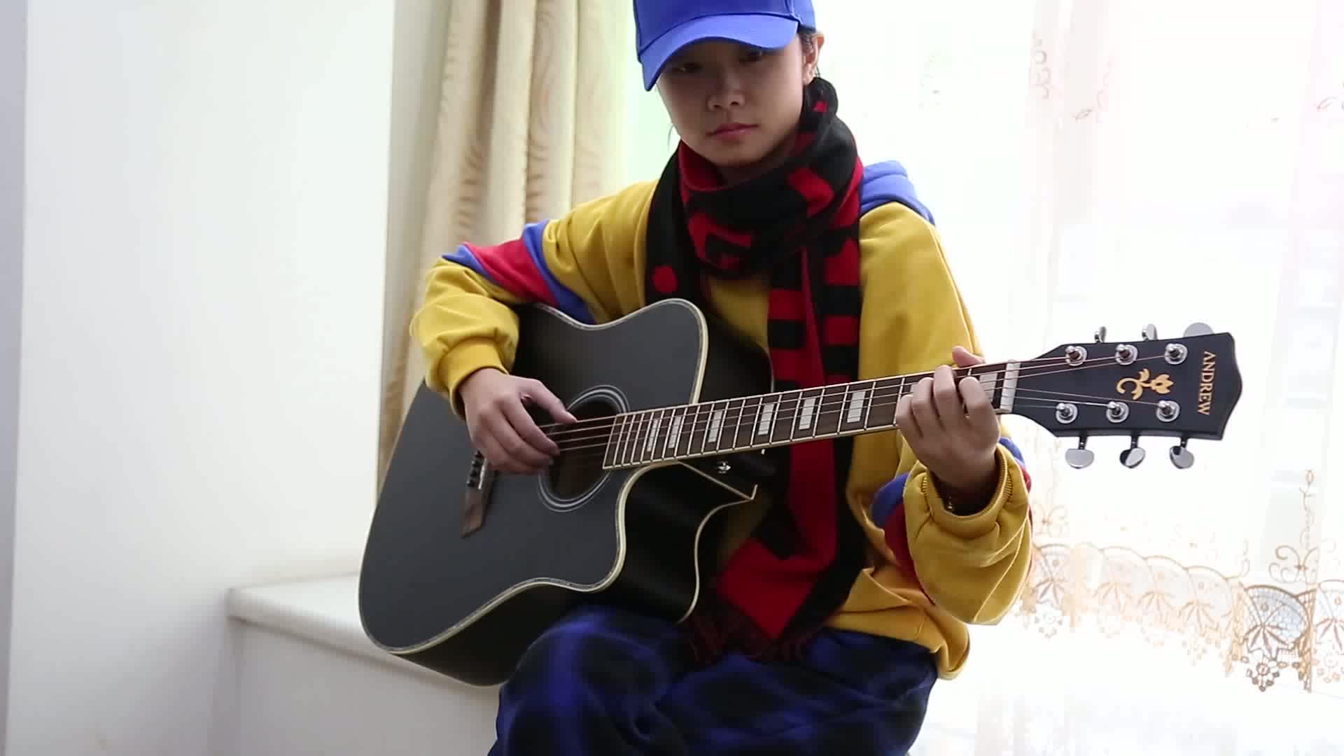 批发价格定制 41 英寸 OEM 原声吉他