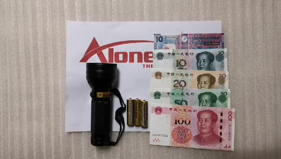 ALONEFIRE 51UV LED Light 395 400nm UV Flashlight ultraviolet Cat Dog pet urine Money Leakage Scorpion Detection Torch AA battery