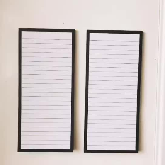 Daily To Do List Grocery Shopping List Magnetic Notepad
