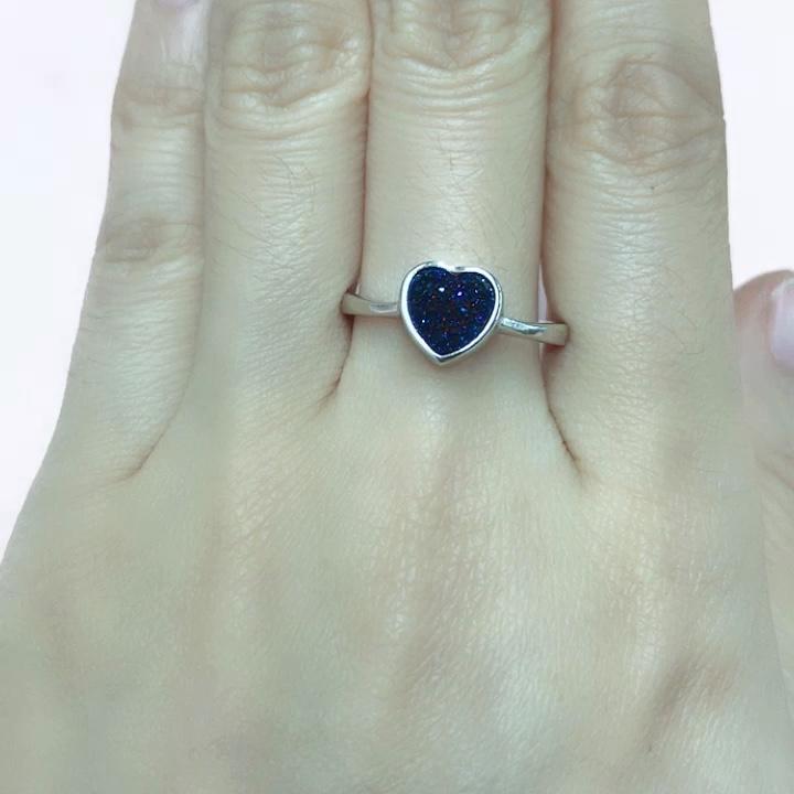 Mode 925 Silber Luxus Herz Schmuck Set