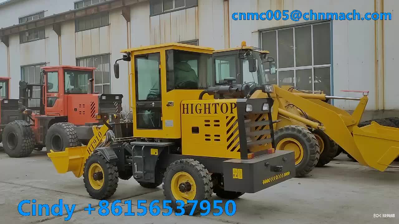 2TON Wheel Loader Mini Backhoe Loader with CE ISO Approved