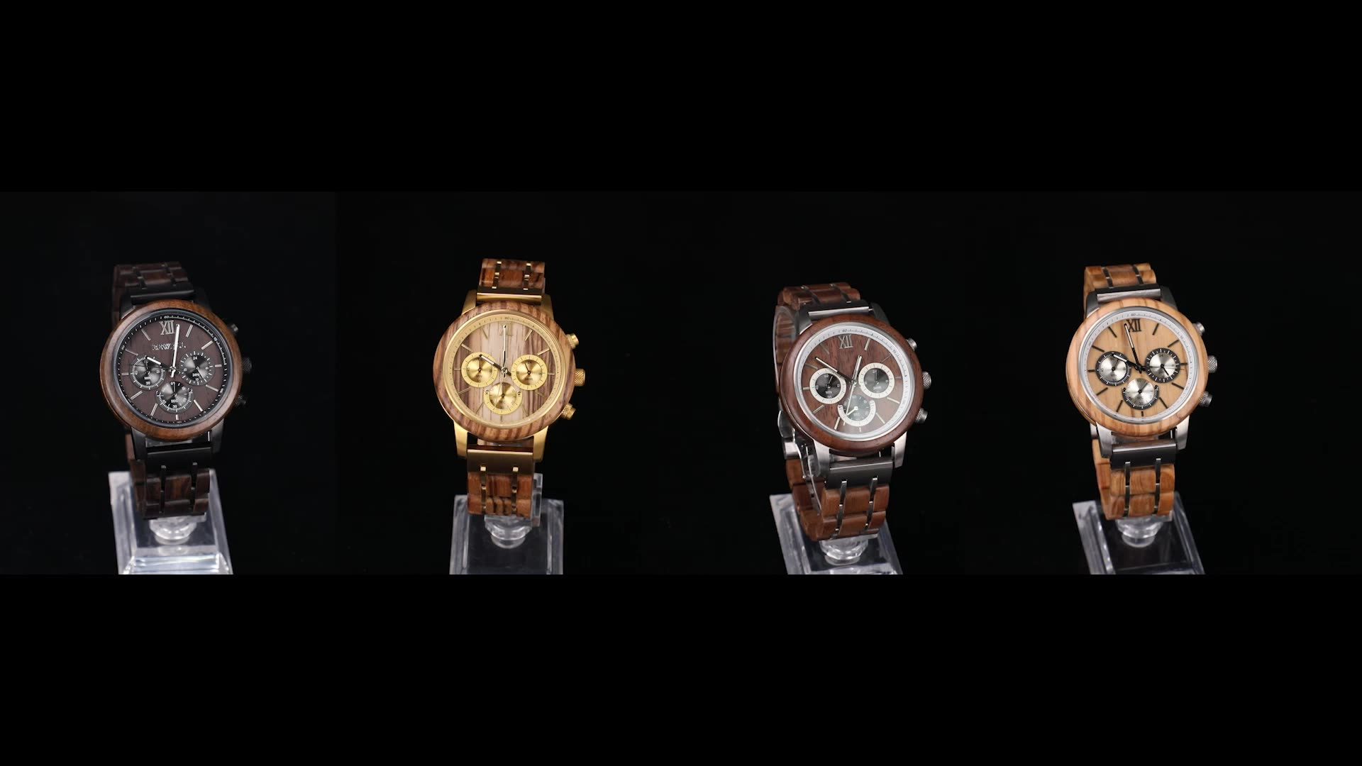 Wood wristwatches fashion smart watches wood for men watch