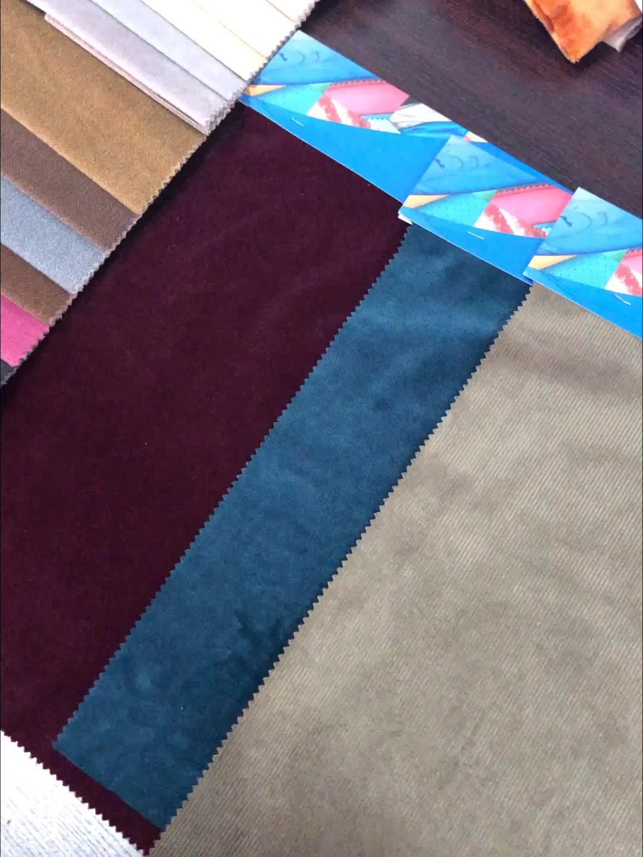 polyester chenille jacquard woven velour fabric for custom garment