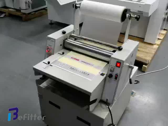 El-380 + a3 high speed heiße rolle thermische laminator maschine mit trimmer