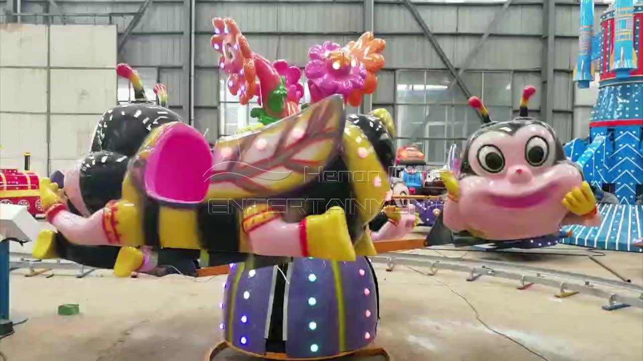 נושא פרק חשמלי שעשועים משחקים מכונת חשמלי גדול עין דבורה לילדים למכירה