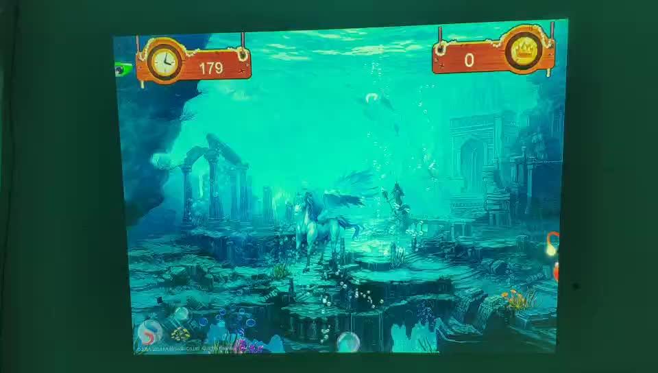 Guangzhou Factory interactive floor projector games 120-150 inch