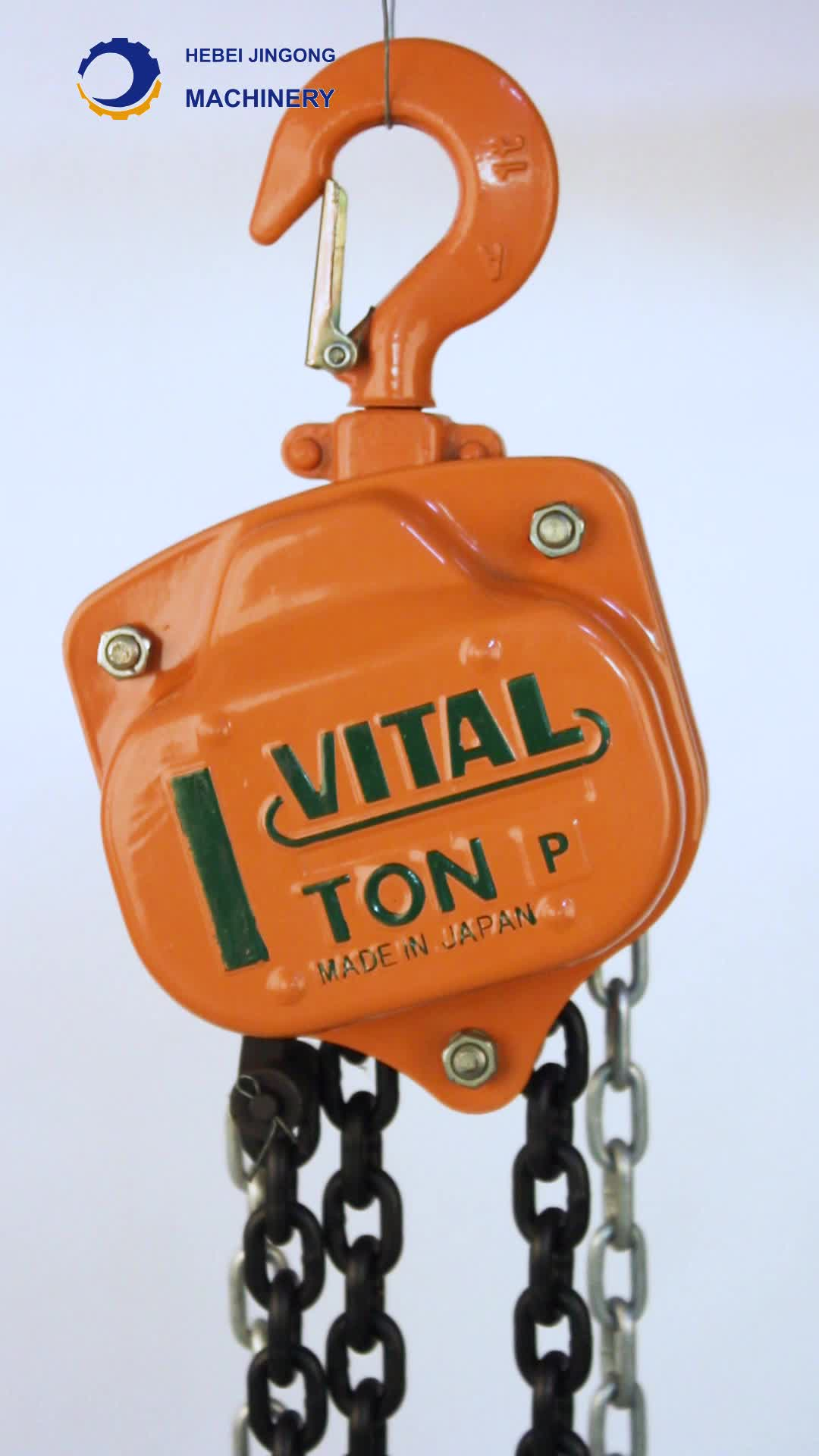 0.5t to 10t VTChain Pulley Block&Chain Block Hoist&Lifting Hoist/hand winch