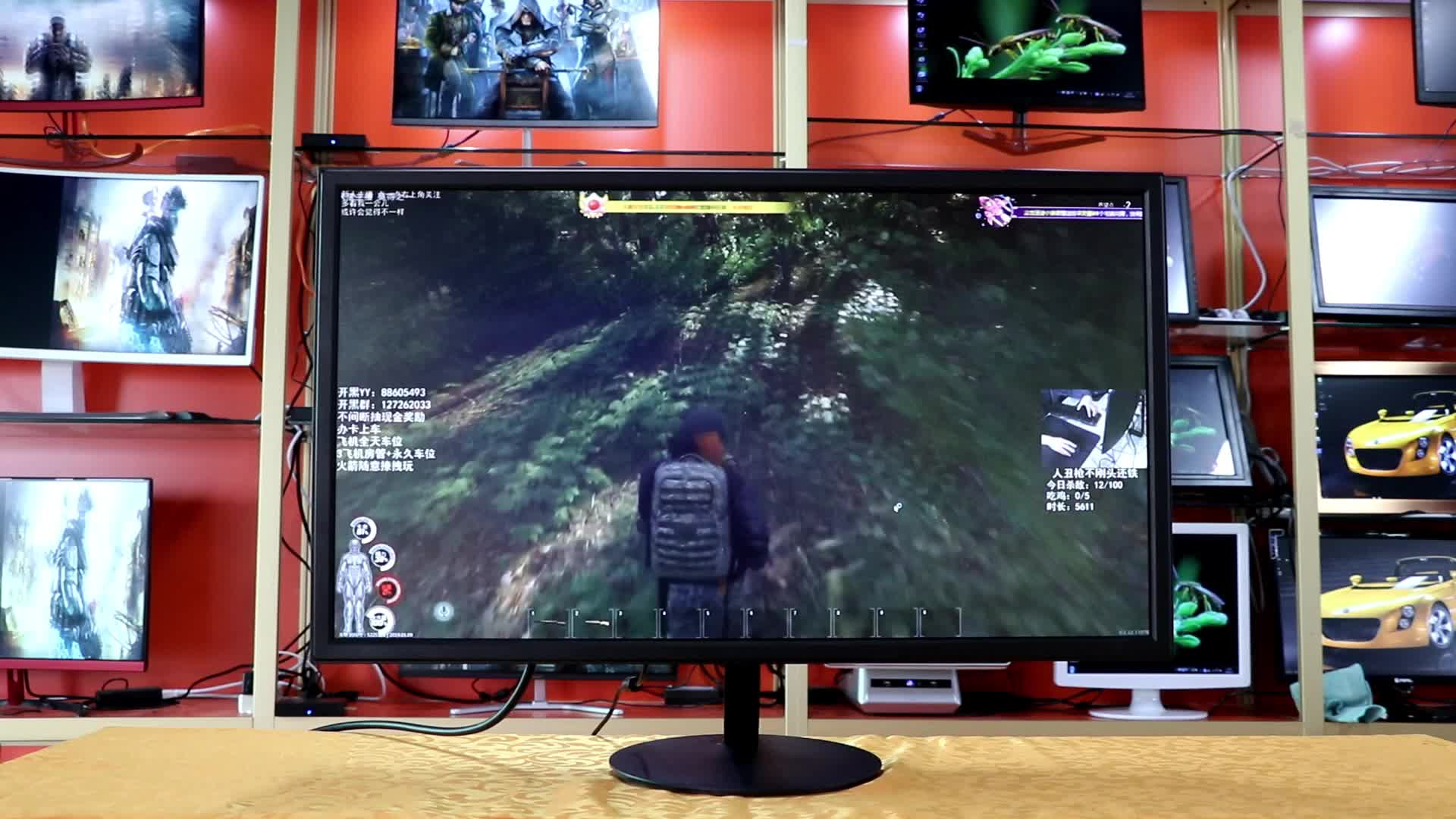 3840*2160 Gaming PC Monitor 4K 28 inch with AMD Freesync