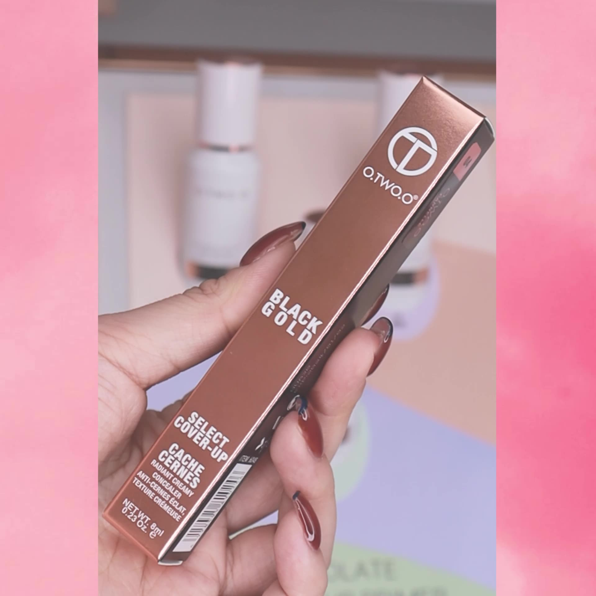 O.TWO.O cosmetics makeup perfect cover face concealer makeup liquid concealer